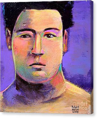 Canvas Print featuring the painting Masahiko Kimura by Robert Phelps