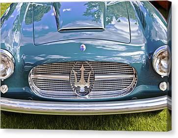 Maserati A6g 54 2000 Zagato Spyder 1955 Canvas Print by Maj Seda