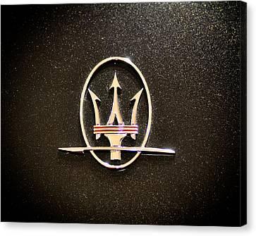 Maserati Logo Canvas Print