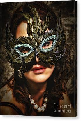 Mask  No. 2  ... Canvas Print