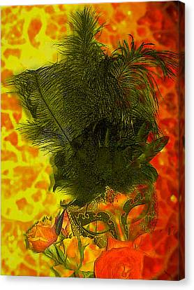 Mask Canvas Print by Kelly McManus