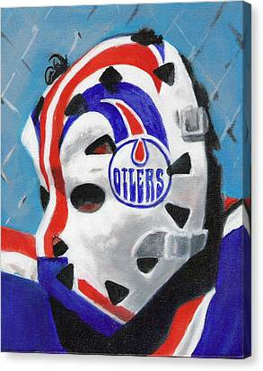 Masked Fuhr Canvas Print by Paul Smutylo
