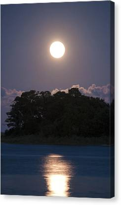 Masonboro Moonrise Canvas Print