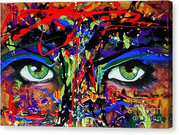 Masque Canvas Print