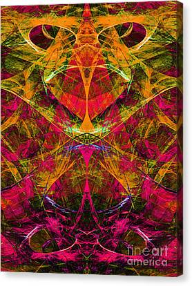 Masquerade 20140128 Vertical Canvas Print by Wingsdomain Art and Photography