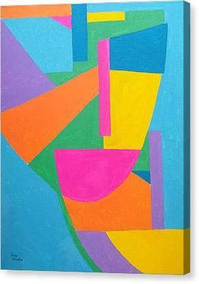 Masquerate Canvas Print by Isaac Alcantar