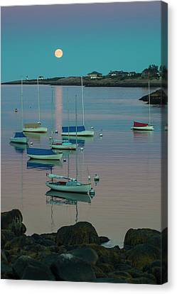Massachusetts, Cape Ann, Rockport Canvas Print by Walter Bibikow