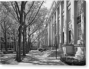 Massachusetts Institute Of Technology Eastman Labs Canvas Print by University Icons