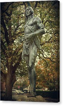 Massasoit Sachem Canvas Print