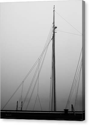 Mast And Rigging Canvas Print by Bob Orsillo