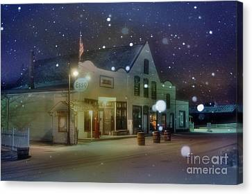Mast General Store Canvas Print by Benanne Stiens