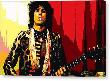 Master Keith Canvas Print by John Travisano