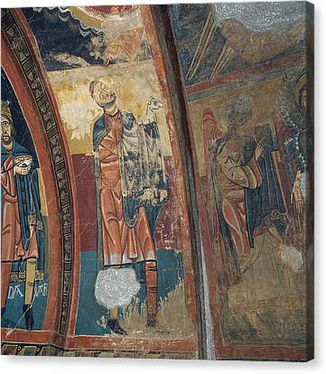 Agnus Canvas Print - Master Of Santa Maria De Taull  by Celestial Images