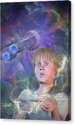 Master Of The Universe Canvas Print by Carol and Mike Werner