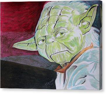 Master Yoda Canvas Print by Jeremy Moore