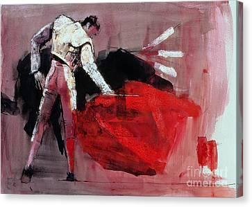 Bulls Canvas Print - Matador by Mark Adlington