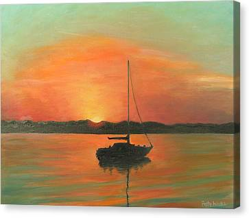 Matanzas Bay Sunrise Canvas Print