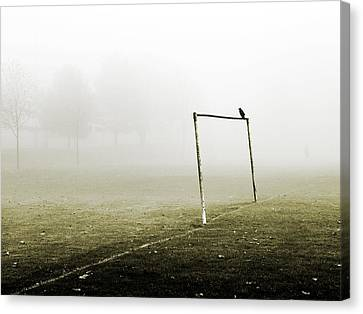 Match Abandoned Canvas Print by Mark Rogan