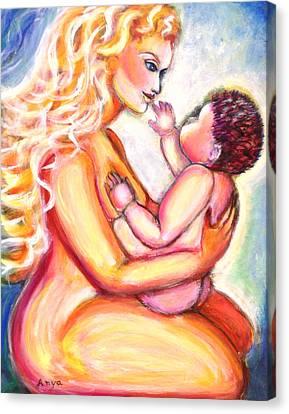 Maternal Bliss Canvas Print