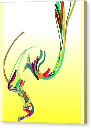 Mating Dance Canvas Print