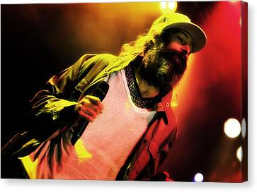 Matisyahu Live In Concert 2 Canvas Print by Jennifer Rondinelli Reilly - Fine Art Photography