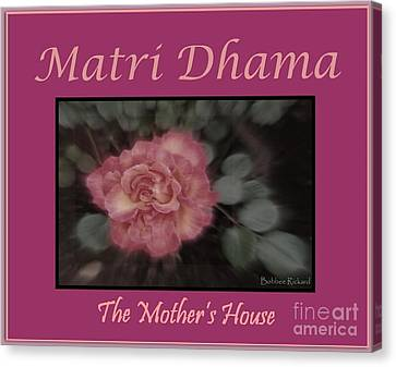 Matri Dhama Design 5 Canvas Print