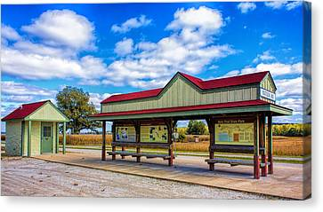 Matson Station Canvas Print by Bill Tiepelman