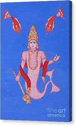 Matsyamurti Canvas Print