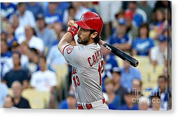 Matt Carpenter Canvas Print by Marvin Blaine