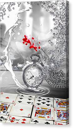 Matter Of Time Canvas Print by Mo T