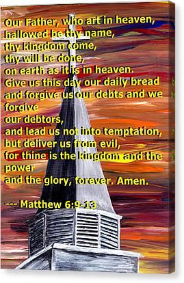 Matthew 6  Canvas Print by Mark Moore