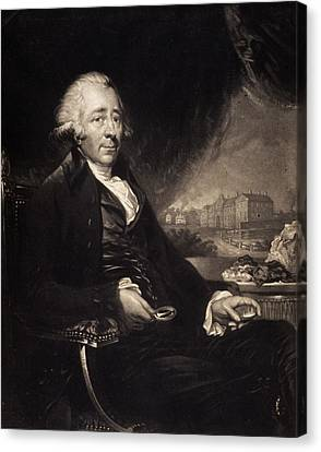Matthew Boulton Canvas Print by Gregory Tobias/chemical Heritage Foundation