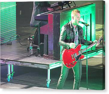 Matthew West At Winterjam Canvas Print by Aaron Martens