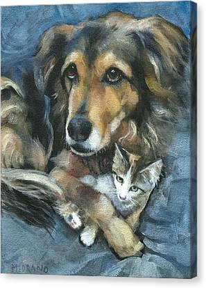 Maty And Lennox Canvas Print