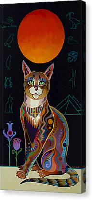 Egyptian Art Canvas Print - Mau by Bob Coonts