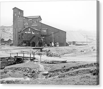 Mauch Chunk Now Jim Thorpe Pennsylvania Coal Mine 1902 Vinta Canvas Print