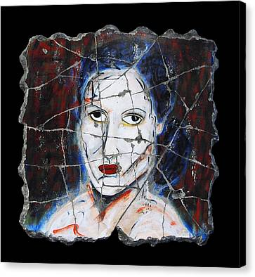 Maude Canvas Print by Steve Bogdanoff