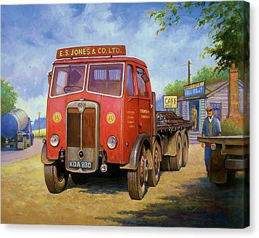 Maudslay Meritor Canvas Print by Mike  Jeffries