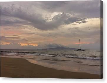 Maui Beach Canvas Print by Francesco Emanuele Carucci
