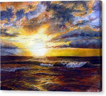 Maui Gold Canvas Print