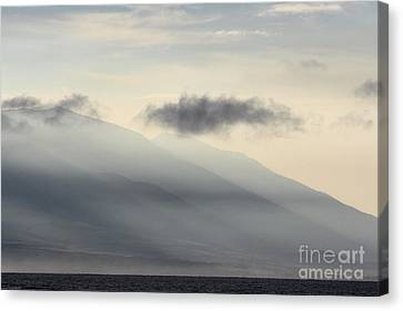Maui In Gray Canvas Print