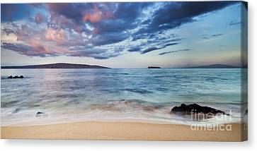 Maui Canvas Print - Maui Sunrise With Kahoolawe Molokini And Lanai by Dustin K Ryan