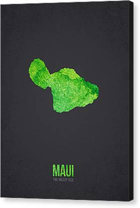 Maui The Valley Isle Canvas Print by Aged Pixel