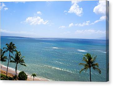 Maui View Canvas Print by Camille Lopez