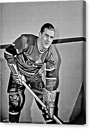 Maurice Richard Canvas Print by Florian Rodarte