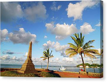 Mauritius Canvas Print - Mauritius, Mahebourg, View Of A Built by Anthony Asael
