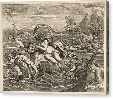 Mauro Oddi Italian, 1639-1702 After Agostino Carracci Canvas Print
