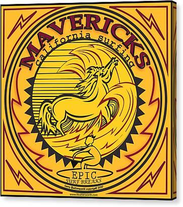 Mavericks Half Moon Bay California Canvas Print