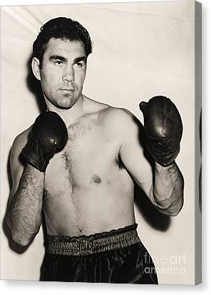 Max Schmeling Canvas Print by Pg Reproductions