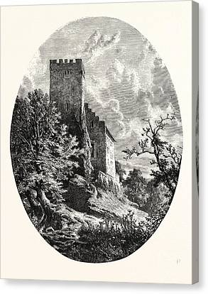 Maximilians Tower, Suabia. Swabia, Sometimes Suabia Or Canvas Print by German School